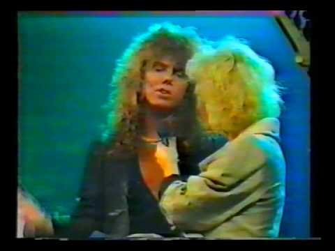 EUROPE - Music Box interview in 1986