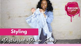 How to Style Distressed Jeans | Barcode Glam