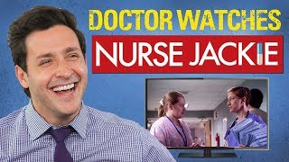 Real Doctor Reacts to NURSE JACKIE | Medical Drama Review | Doctor Mike
