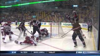 Northeastern vs. Harvard Beanpot Highlights - 02/03/2014