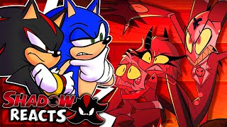 Sonic & Shadow Reacts To HELLUVA BOSS - Murder Family // S1: Episode 1!