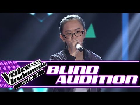 Beatrice - Believer | Blind Auditions | The Voice Kids Indonesia Season 3 GTV 2018