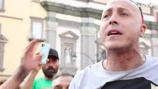 VIDEO NEWS | 25 LUGLIO 2021 | MANIFESTAZIONE NO VAX AL VAGLIO DELLA QUESTURA