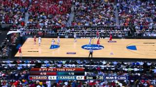 2008-03-30 NCAAB - Kansas - (1) vs Davidson (10) 2nd Half