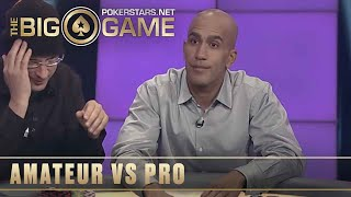 The Big Game S2 ♠️ E17 ♠️ Loose Cannon vs Bill Perkins and Phil Laak ♠️ PokerStars