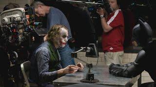 The Dark Knight - Heath Ledger Joker Behind The Scenes (Rare)