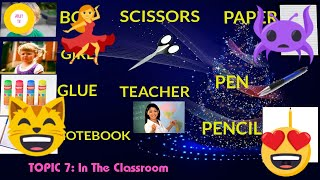 Learn English Through Pictures For Kids In The Classroom Jolly TV