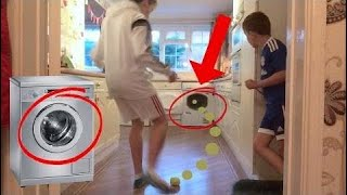 *EPIC* YouTuber Indoor Football Challenge!
