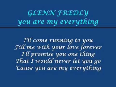 glenn fredly - you are my everything [lyric]