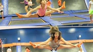 Mommy Daughter Straddle Jumps (WK 285.3) | Bratayley