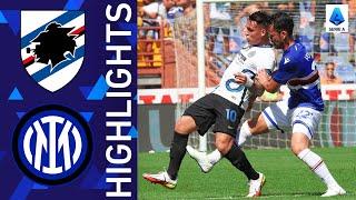 Sampdoria 2-2 Inter | Inter are held to a draw at Marassi | Serie A 2021/22