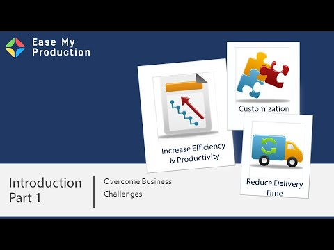 Ease my production manufacturing erp & inventory management system