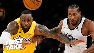 The Clippers will keep the Lakers from winning a championship this season – Damon Jones | First Take