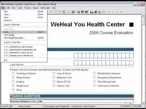 Mail Merge in ExpertScan