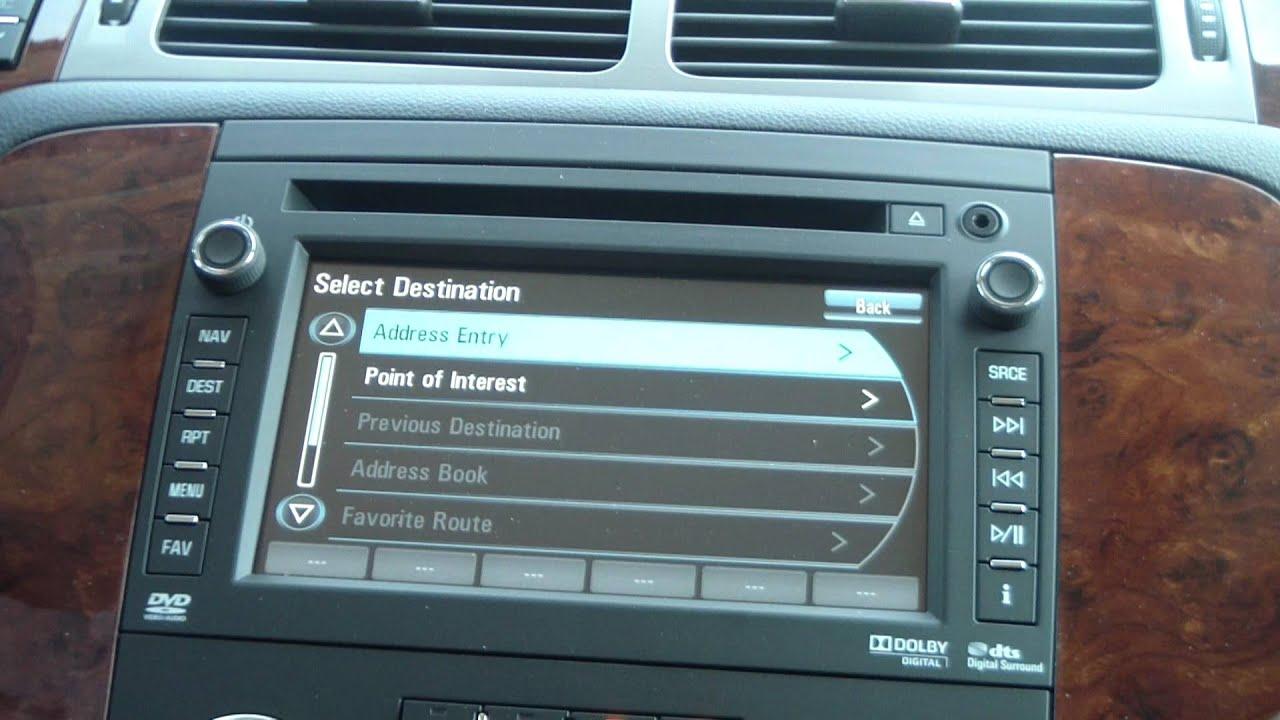 Sid Dillon Fremont >> New 2012 Chevrolet Tahoe LTZ Navigation System - YouTube