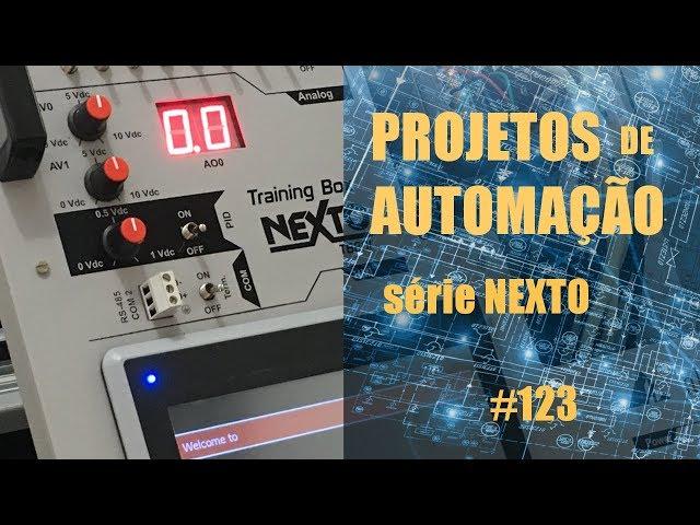 FORNO DE MICROONDAS EMULADO NO CLP NEXTO (p2) | Projetos de Automação #123