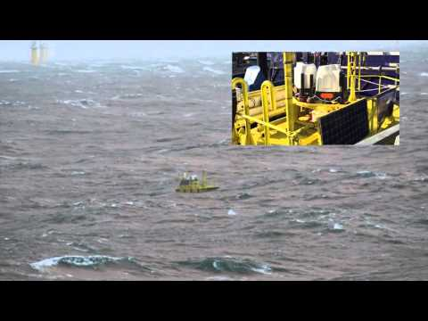 AXYS FLiDAR 6M in the North Sea at FINO 1 Met Mast