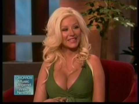 Christina Aguilera on Ellen DeGeneres