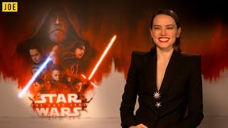 Daisy Ridley reveals who she wants to impress the most with Star Wars: The Last Jedi