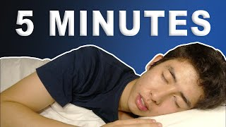 How to Fall Asleep in 5 Minutes (ASMR)