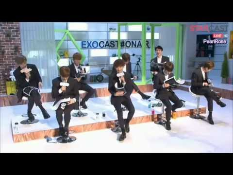 [EngSub]150406 Rolling paper cut EXOCAST