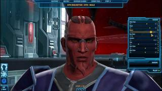 Let's Play: Star Wars: The Old Republic Beta Ep1 (I'm a Sith Sith)