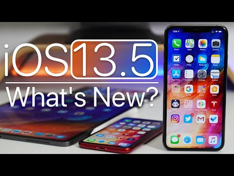 iOS 13.5 is Out! - What's New?