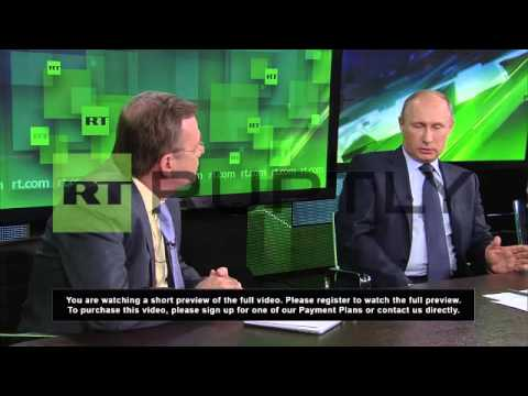 Russia: Putin Says Opposition Must Follow The Law - Smashpipe People