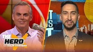 Joe Burrow is a way overqualified Andy Dalton, talks AFC Championship — Nick Wright | NFL | THE HERD