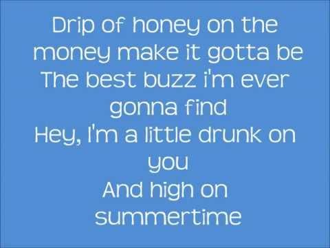 Luke Bryan - Drunk On You Lyrics
