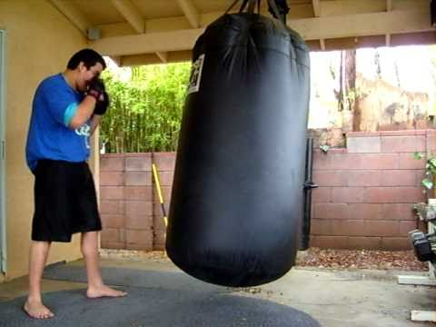 500 Lb Heavy Bag Youtube