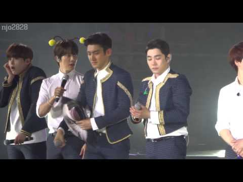 150329 SS6Nanjing Donghae ment & choki choki dance (can you feel it)