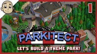 Parkitect - The Main Attraction! - Ep.1 - Let's Play Parkitect The Theme Park Builder