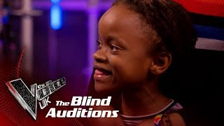 Shivon Kane's Little Sister Steals the Coaches Hearts! | Blind Auditions | The Voice UK 2019