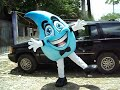 BOTARGA MR WATER  (MASCOT COSTUME) BY FEALFORMA