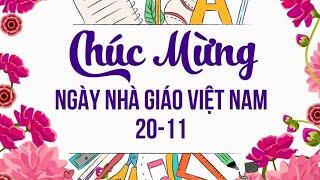 Lời chúc ngày Nhà giáo Việt Nam 20/11 hay ý nghĩa nhất. Chào mừng 20/11 | Lời chúc hay |