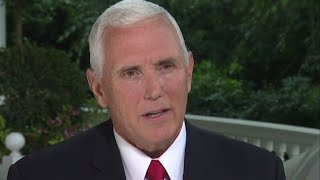"Full interview: Vice President Mike Pence on ""Face the Nation"""