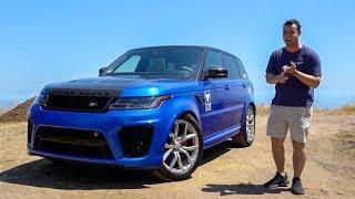2018 Range Rover SVR Review - Better Than An X5M?