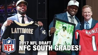 NFC South Draft Grades | Path to the Draft | NFL Network