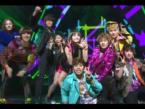 【TVPP】f(x) - Collaboration stage with SHINEE, 에프엑스 - 샤이니와 합동 무대 @ 2012 KMF