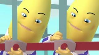 Working Bananas Compilation - Full Episodes - Bananas In Pyjamas Official