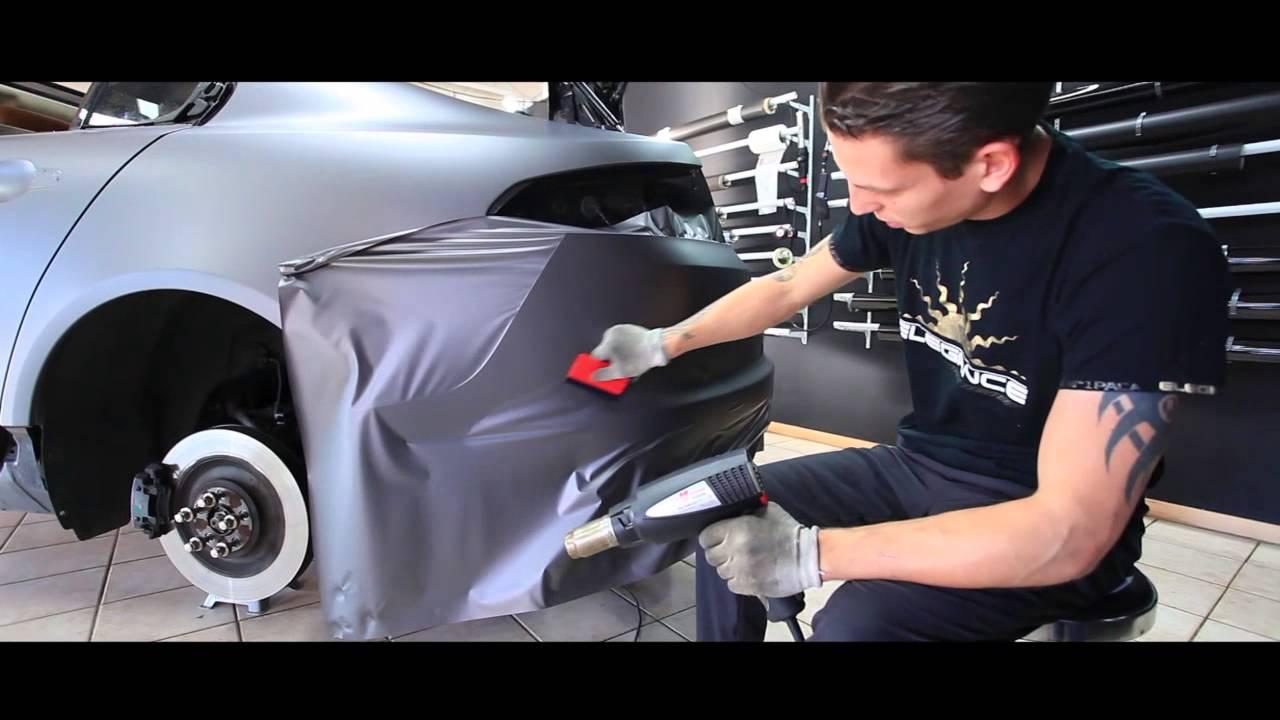 Total Covering Gris Mat Sur Jaguar Xf Noir Realise Par