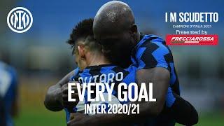 EVERY GOAL! | INTER 2020/21 | #IMSCUDETTO | Lukaku, Lautaro, Hakimi, Eriksen and more... 🏆⚫🔵🇮🇹