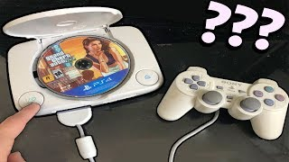 What happens if we put a PS4 disc in a PS1?