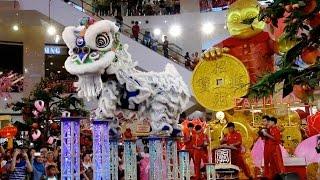 CNY 2016 ~ Acrobatic Lion Dance (舞獅 Múa Lân) by Kun Seng Keng @ Pavilion KL (16/1/2016) (4k UHD)