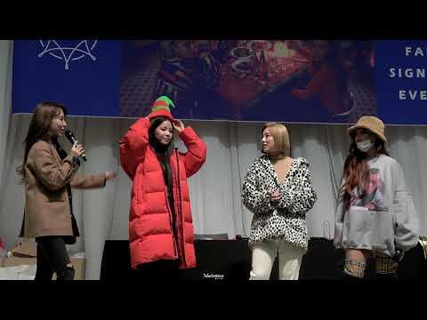 [4K] 181208 BLUE;S 목동 팬싸인회 포토타임 마마무 (MAMAMOO) 전체직캠 fancam [CHN SUB]