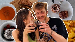 WHAT WE EAT IN A DAY *couples edition*