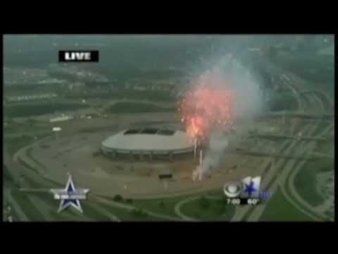 Texas Stadium Implosion Fireworks