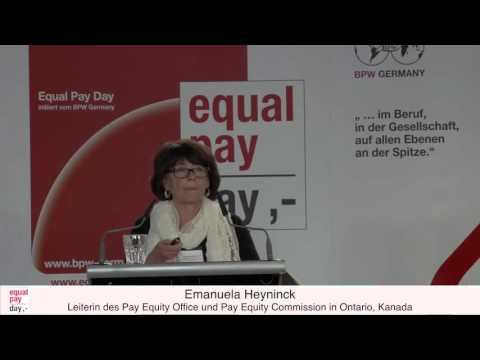 Emanuela Heyninck | Equal Pay Day Forum am 03.11.2015 im BMFSFJ, Berlin