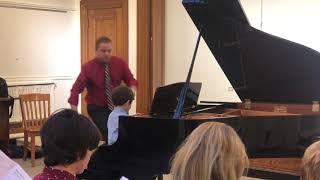 Tristan's Spring Piano Recital 2019